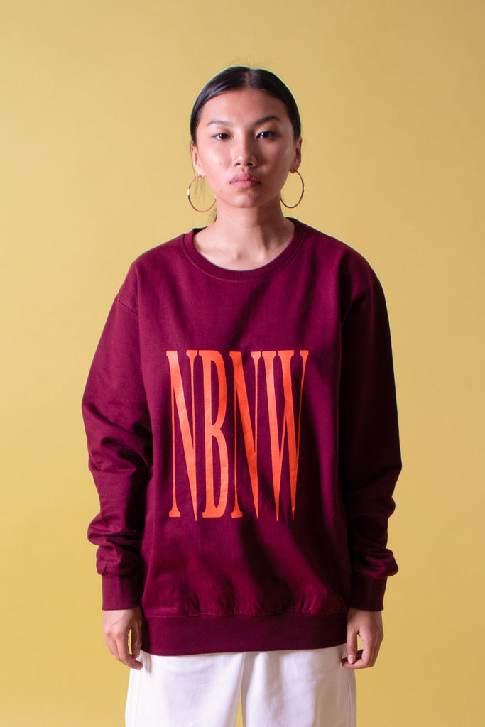 NBNW SWEATSHIRT - WINE