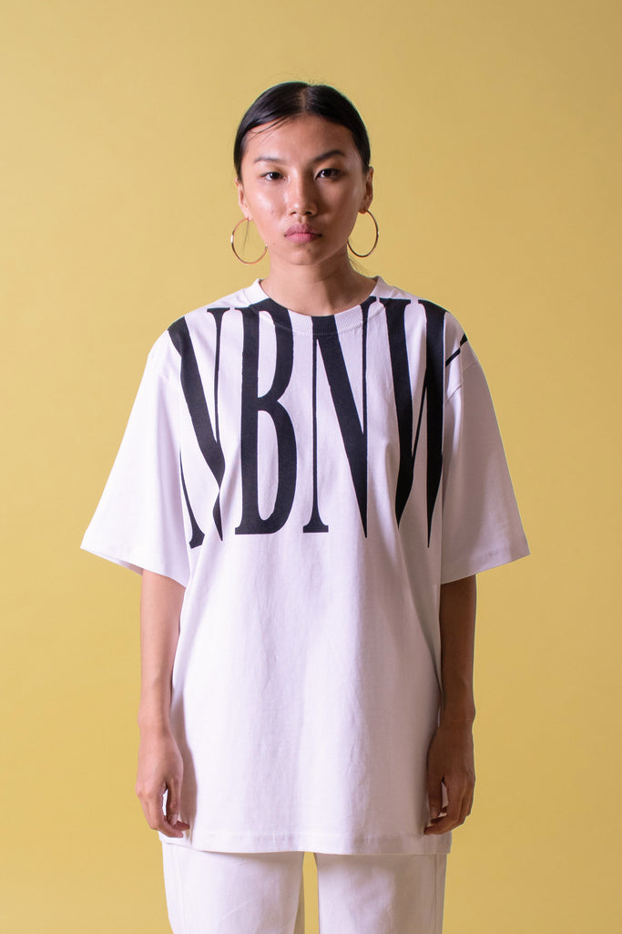 NBNW WHITE SHORT SLEEVE TEE
