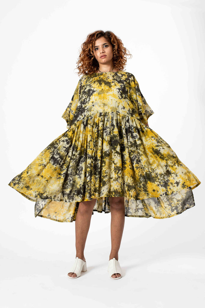 ALL THE FIXINGS DOVER SPLATTER DRESS