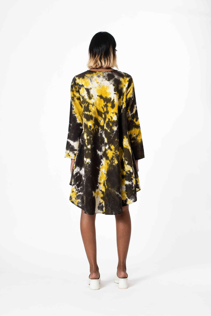 ALL THE FIXINGS HOLI SPLATTER DRESS