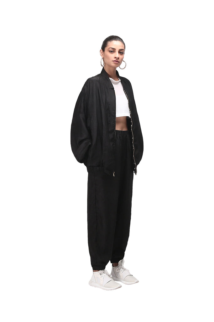 Chhota Mota (Reversible) Track Pants - Black