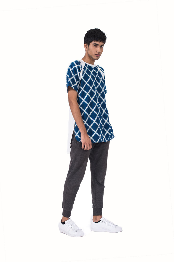 IKAT CRISS CROSS BALL SHIRT