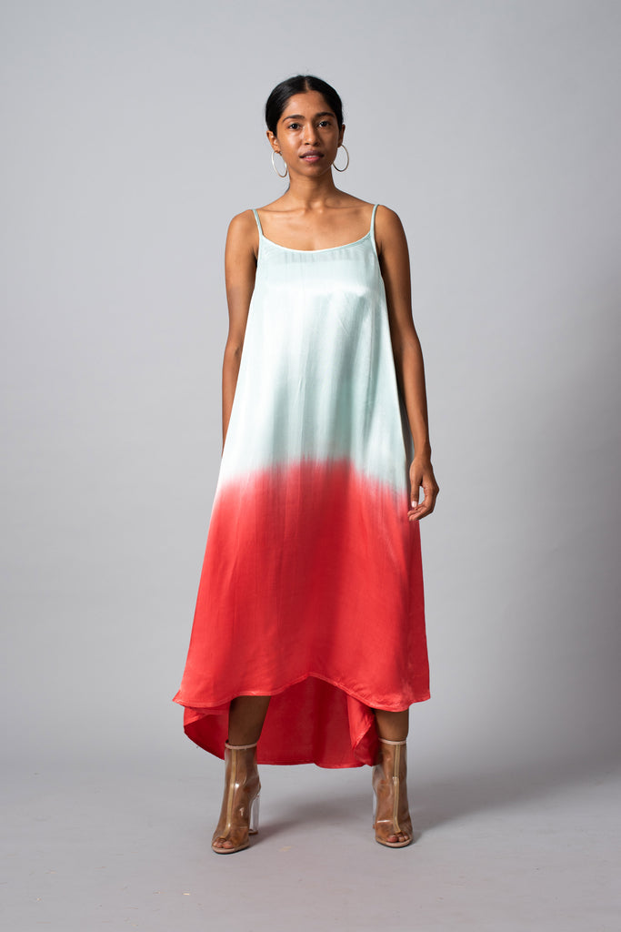 POPSICLE SELENA SLIP DRESS