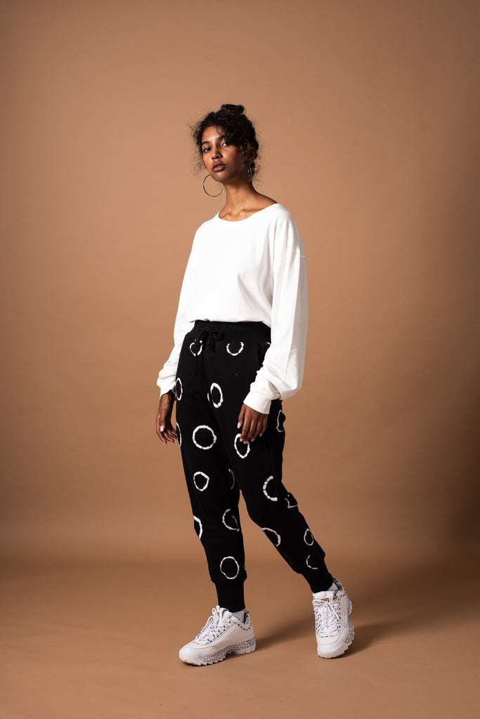 RING TRACKPANTS - BLACK