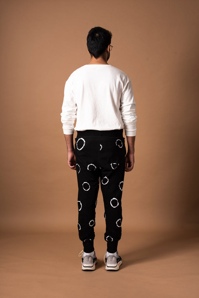 RING SWEATPANTS - BLACK