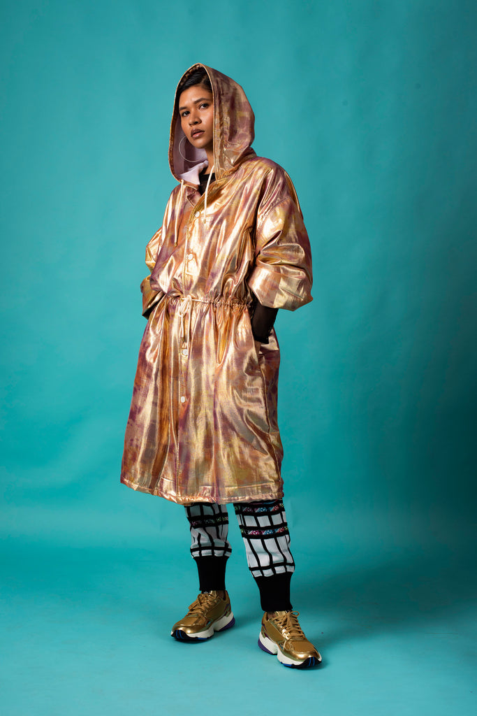 GOLD SHIMMA TRENCH