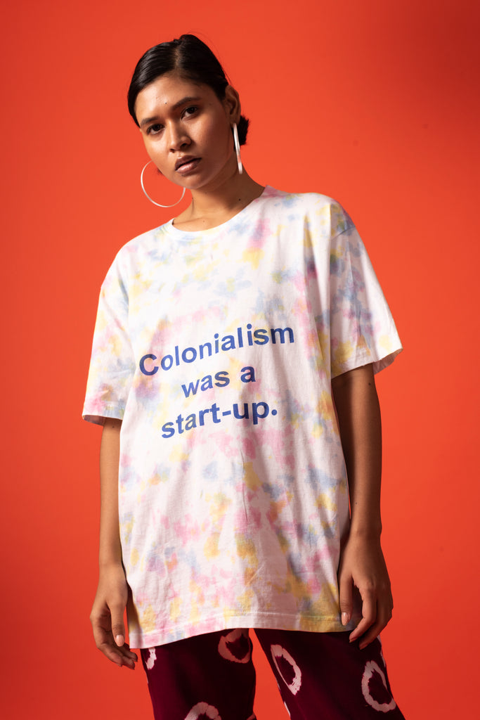 COLONIALISM WAS A START-UP TEE - MULTI