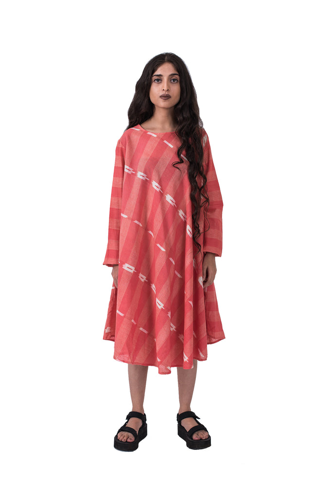 Ikat Holi Dress