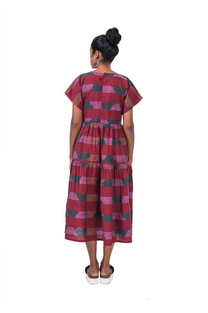 Ikat Tier Dress