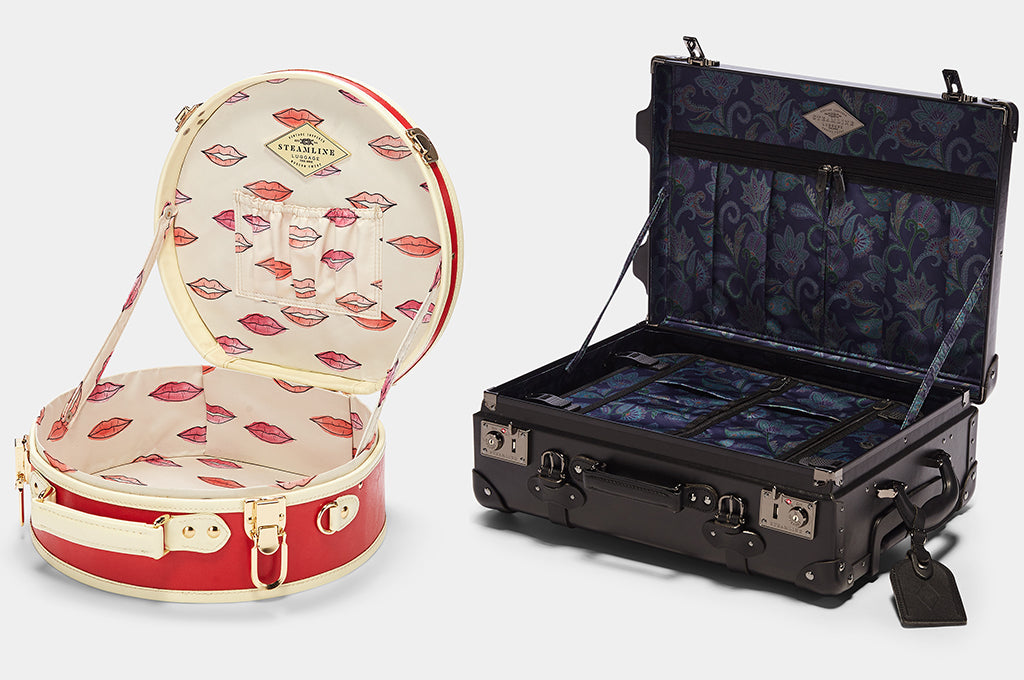 Beautiful Inside and Out: The Fine Art of SteamLine Luggage's Linings