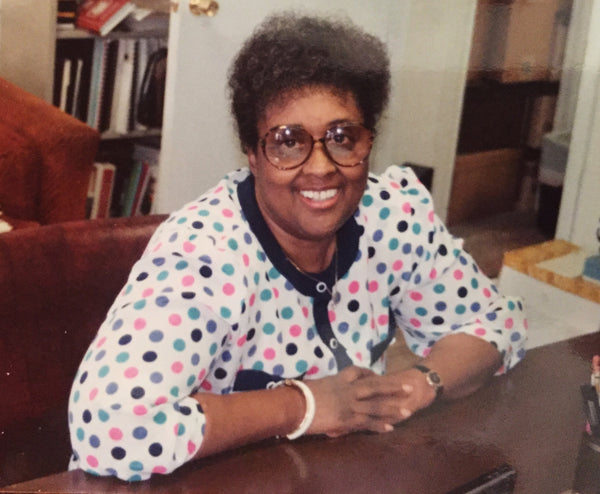 Tracy Foster's entrepreneurial grandmother at her desk