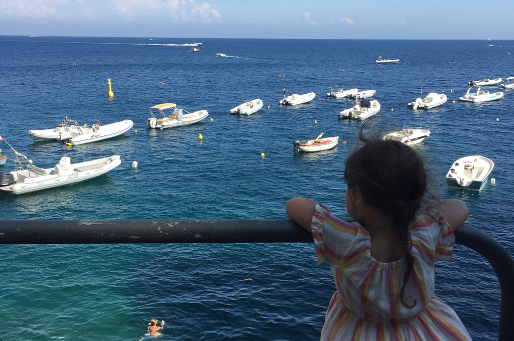 Gemmia in Ischia, Italy, 2019 INSPIRED BY FATHOM FOUNDER JERALYN GERBA - AT HOME IN BROOKLYN