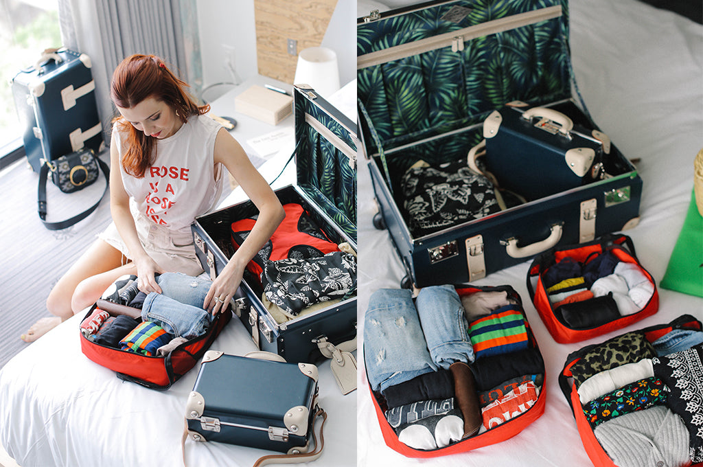 How to Pack Simply - Sea of Shoes Demonstrates Packing with Packing Cube Organizers