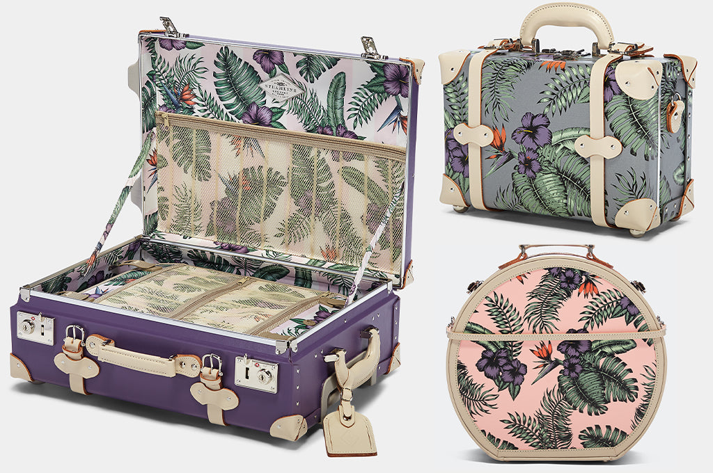 All About the Flowers: Botanical Beauty for the SteamLine Luggage Botanist Collections