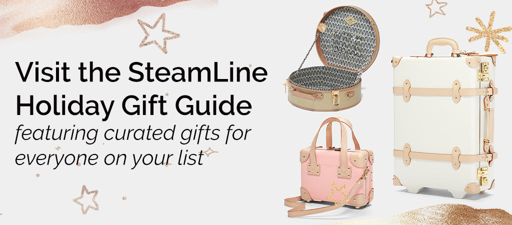SteamLine Luggage's Holiday Gift Guide