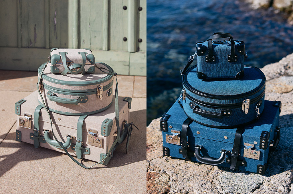 SteamLine Luggage's Editor Linen Luggage Collections