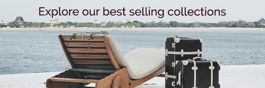 SteamLine Luggage's Starlet Collection on the Beach