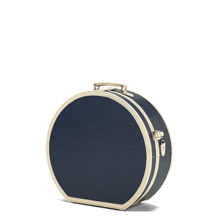 The Entrepreneur - Navy Deluxe Hatbox