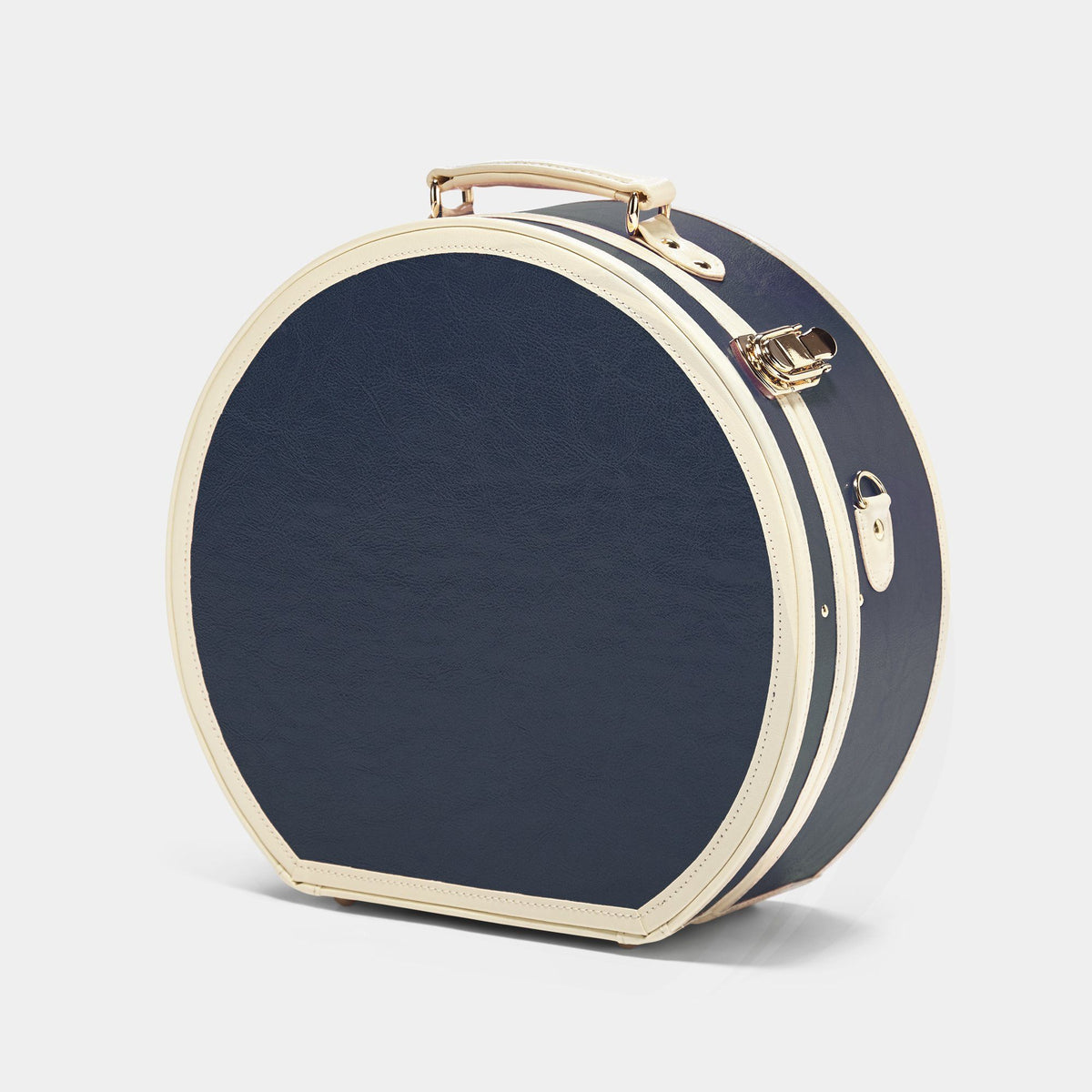 The Entrepreneur - Navy Large Hatbox