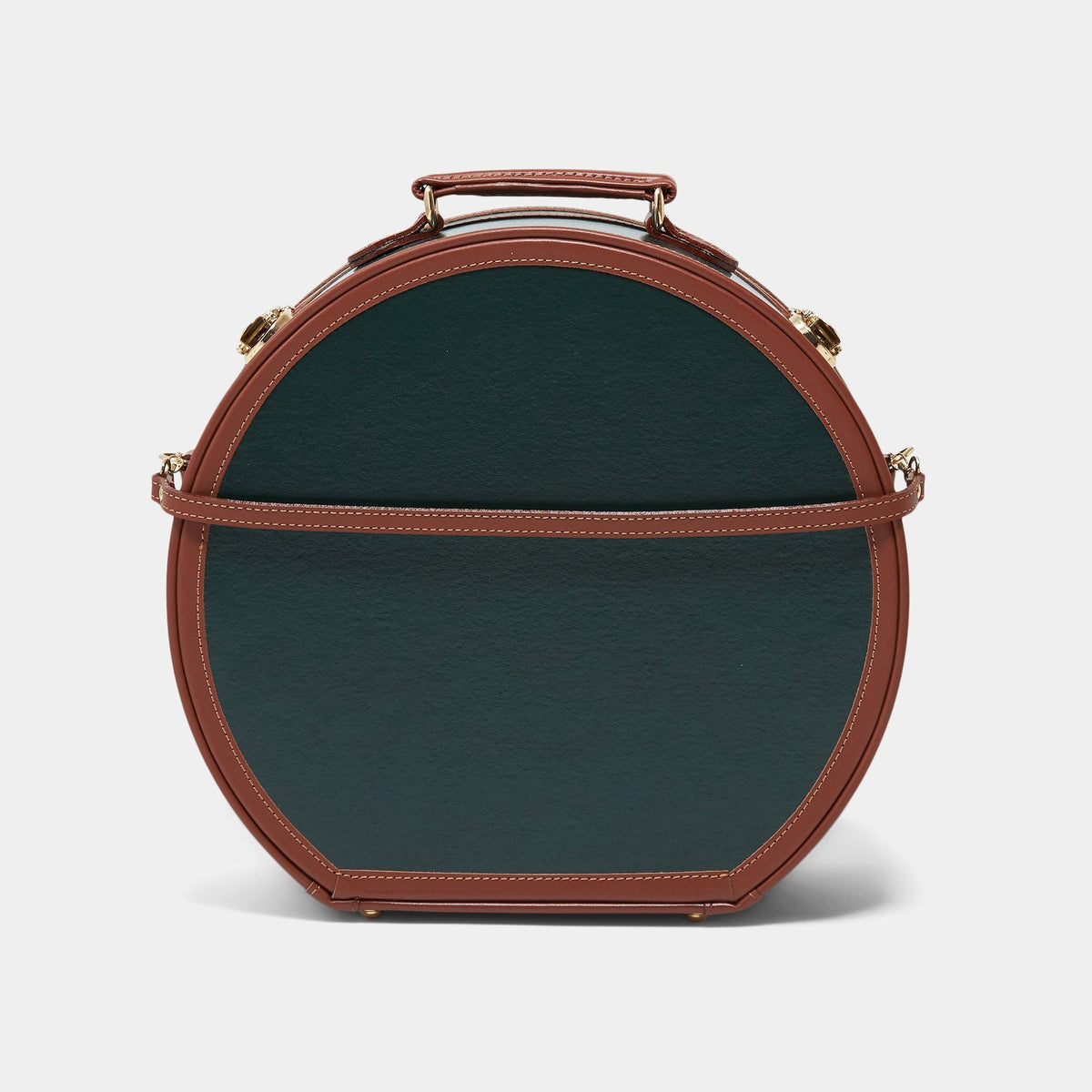 The Diplomat - Hunter Green Hatbox Large