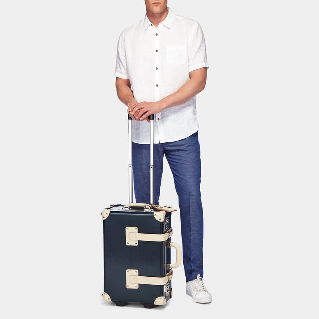 The Anthropologist - Navy Carryon - Steamline Luggage