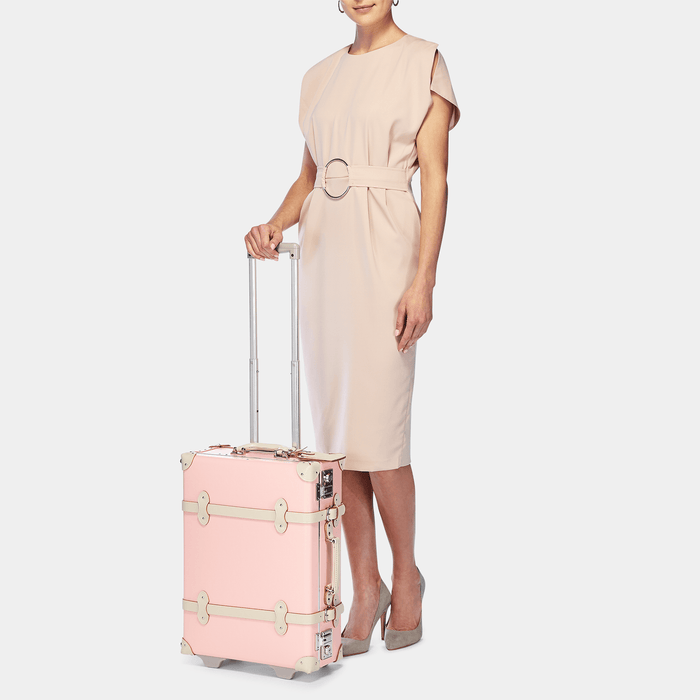 The Botanist - Pink Carryon - Steamline Luggage