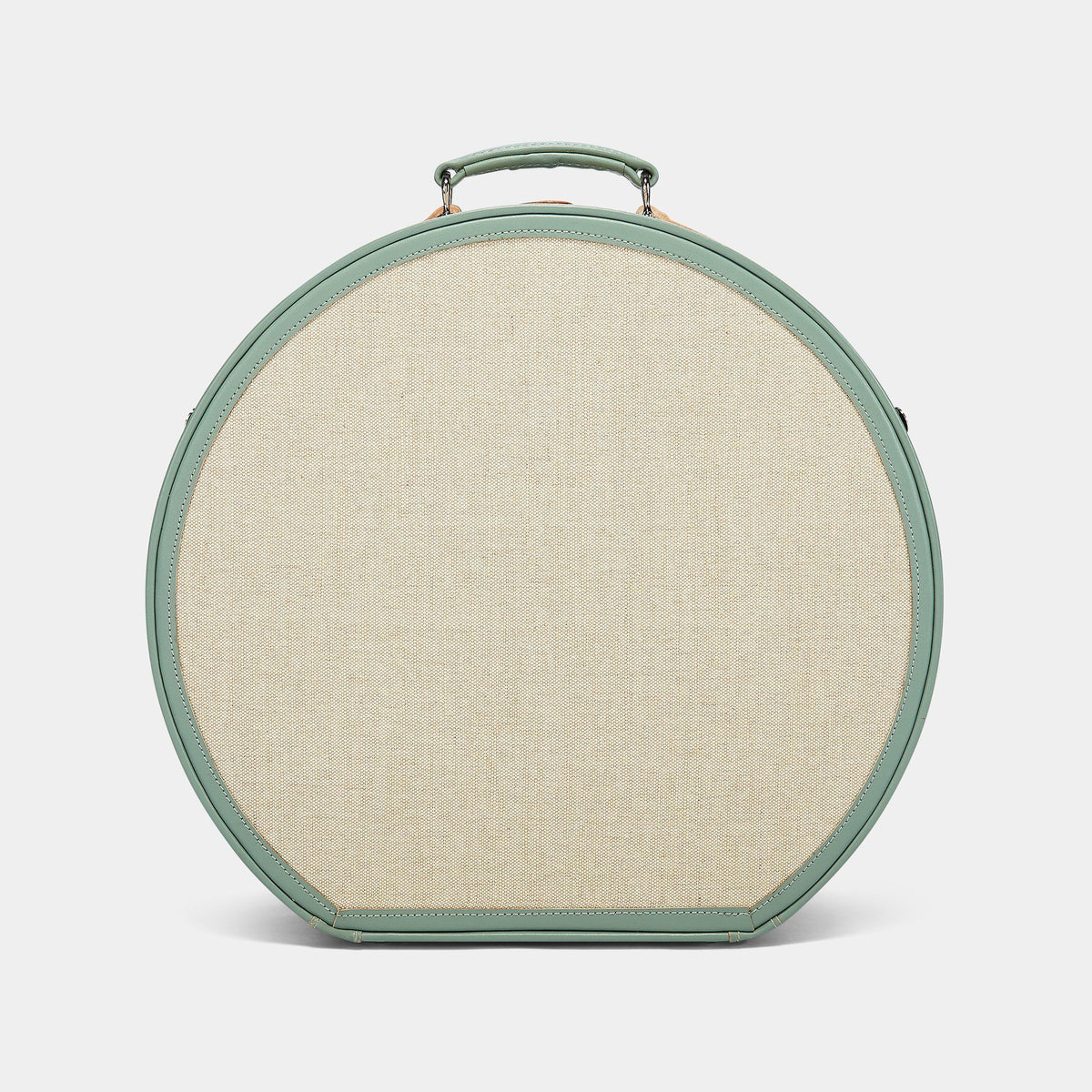 The Editor - Sea Green Deluxe Hatbox