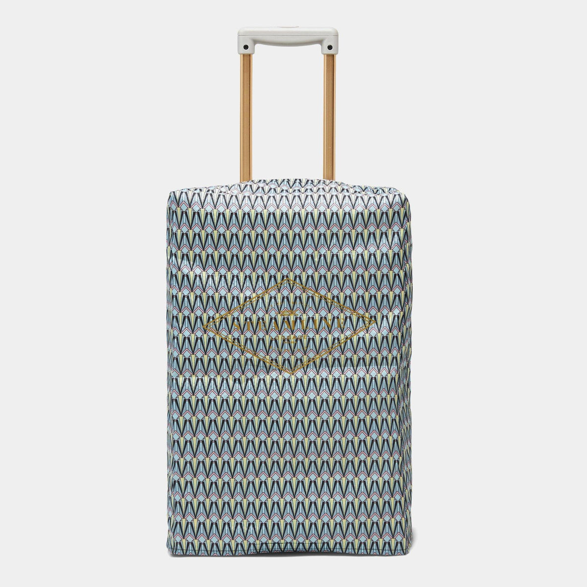 The Art Deco Protective Cover - Carryon Size - Steamline Luggage