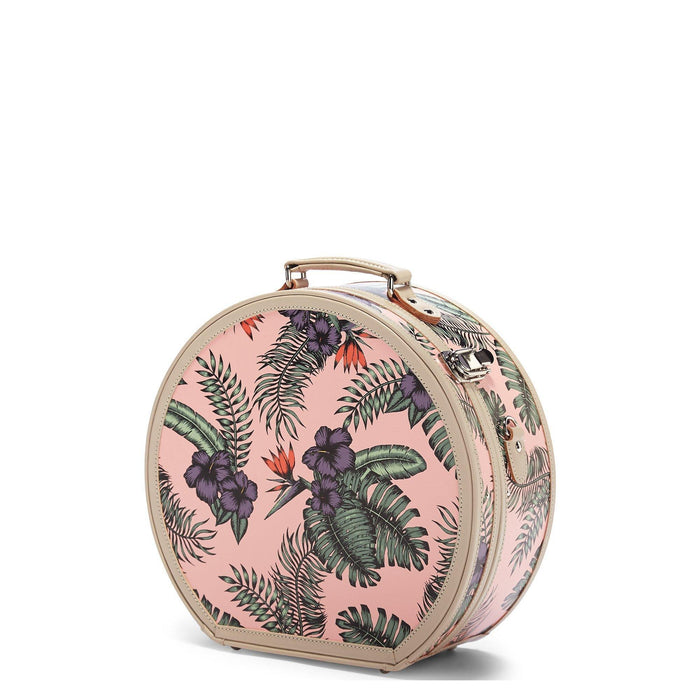 The Botanist - Pink Hatbox Large - Steamline Luggage