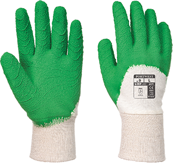 a171 Open Back Latex Glove