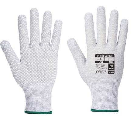 a196 Antistatic Micro Dot Glove