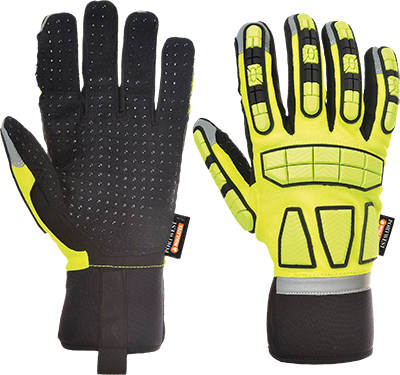 a725 Safety Impact Glove Lined