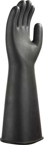 a802 Heavy Latex Gauntlet  44cm