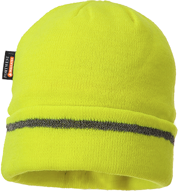 b023 Knitted Hat Reflective Trim