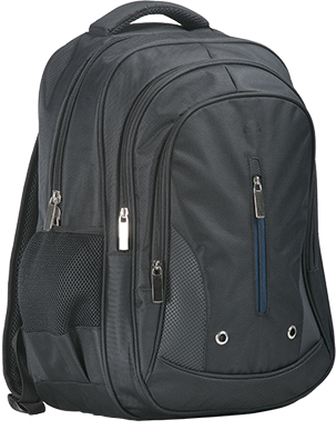 b916 Triple Pocket Backpack