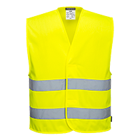 c374 MeshAir Hi-Vis 2 Band Vest
