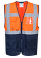 c377 MeshAir Hi-Vis Executive Vest