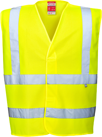 fr75 Hi-Vis FR Treated Vest