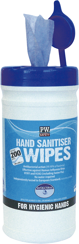 iw40 Hand Sanitiser Wipes 200