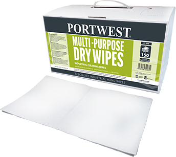 iw90 Multi Purpose Dry Wipes (150)