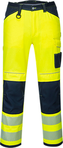 pw340 PW3 Hi-Vis Work Trousers
