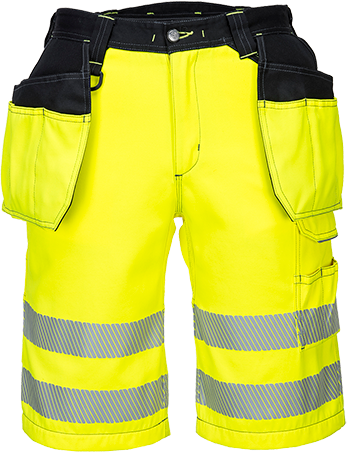 pw343 PW3 Hi-Vis Holster Shorts