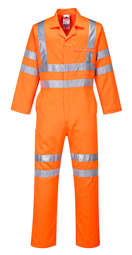 rt42 Hi-Vis Polycotton Coverall RIS