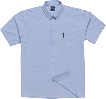 s108 Oxford Shirt Short Sleeve