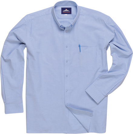 s117 Easycare Oxford Shirt  L/S
