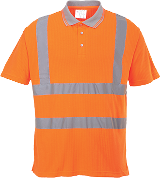 s177 Hi-Vis Ribbed Polo Shirt