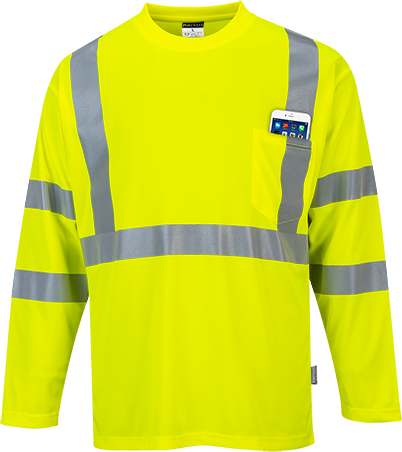 s191 Hi-Vis Long Sleeved T-Shirt