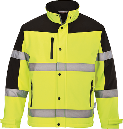 s429 Hi-Vis Two-Tone Softshell
