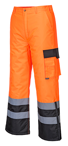 s686 Hi-Vis Lined Contrast Trousers