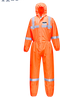 st36 Hi-Vis SMS Coverall  (50pc)